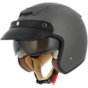 Astone Sportster 2 Jet hjelm Brun XS