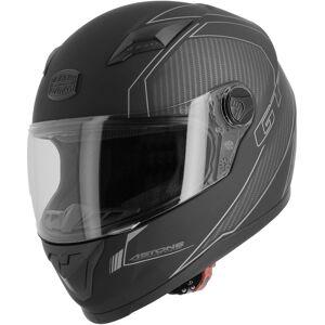 Astone GT2 Carbon Hjelm Svart Grå 2XL