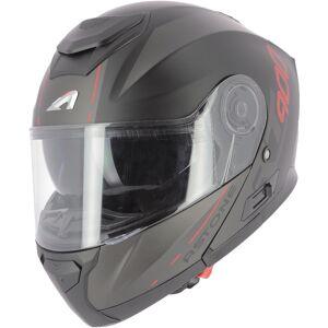 Astone RT 900 Stripe Hjelm Svart Rød S