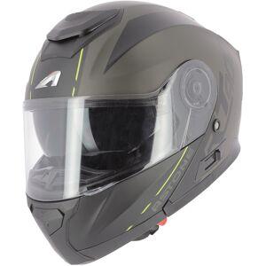 Astone RT 900 Stripe Hjelm Svart Gul XL