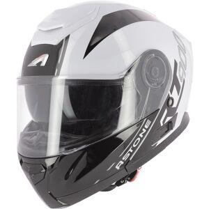 Astone RT 900 Stripe Hjelm Svart Hvit M