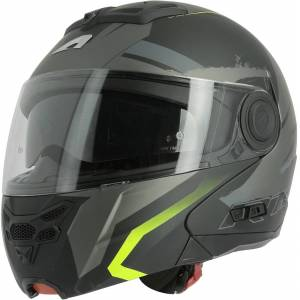 Astone RT 800 Energy Hjelm Svart Gul XS