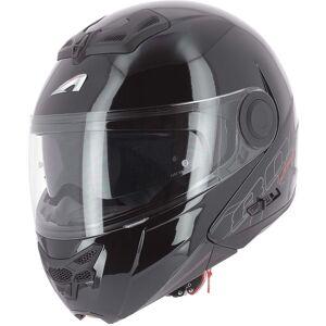 Astone RT 800 Shadow Hjelm Svart XS