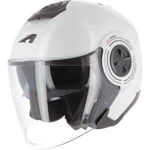 Astone Aviator Jet hjelm Hvit L