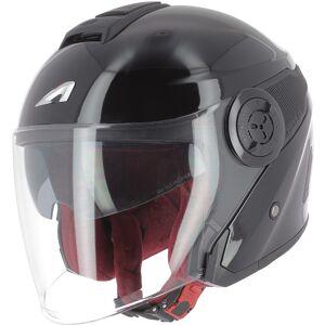 Astone DJ10-2 Monocolor Jet hjelm Svart 2XL