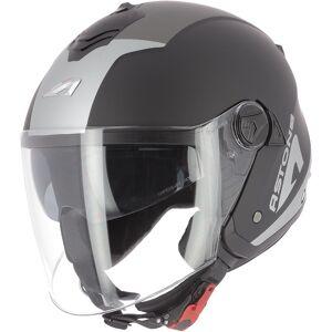 Astone Minijets Wipe Jet hjelm Svart M