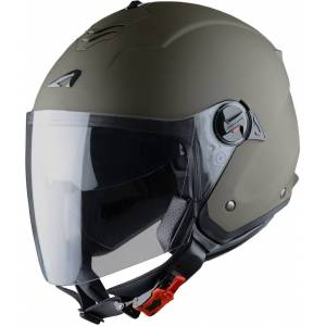 Astone Minijets Monocolor Jet hjelm Grønn 2XL