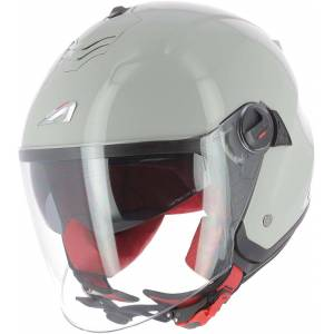 Astone Minijets Monocolor Jet hjelm Grå 2XL