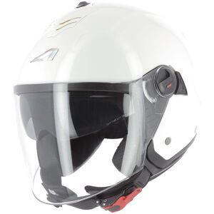 Astone Minijets Monocolor Jet hjelm Hvit S