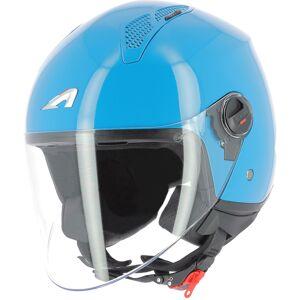 Astone Minijet Monocolor Jet hjelm Blå M