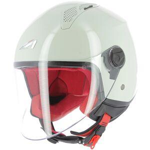 Astone Minijet Monocolor Jet hjelm Grå L