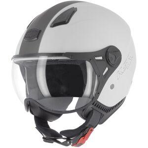 Astone KSR-2 Jet hjelm Grå S