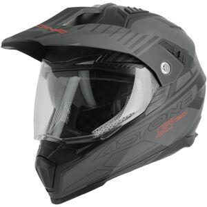 Astone Crossmax S-Tech Hjelm Svart XL