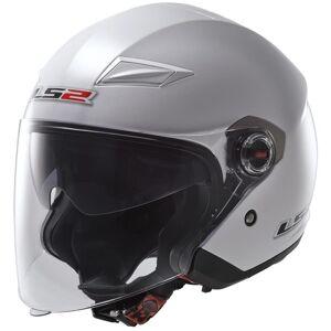 LS2 OF569 Track Jet hjelm S Hvit