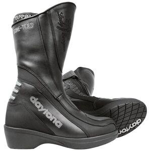 Daytona Lady Evoque GTX Gore-Tex vanntett damer motorsykkel støvler 37 Svart