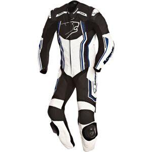 Bering Supra-R Ett stykke skinn Dress 3XL Svart Hvit Blå