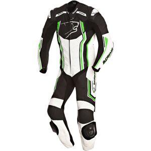 Bering Supra-R Ett stykke skinn Dress 3XL Svart Hvit Grønn