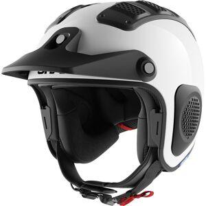 Shark ATV-Drak Blank Off-Road hjelm 2XL Hvit