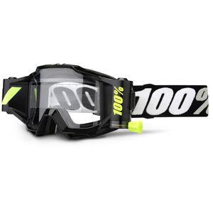 100% Accuri Forecast Motocross briller en størrelse Svart Hvit