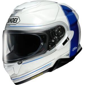 Shoei GT Air 2 Crossbar Hjelm 2XL Hvit Blå