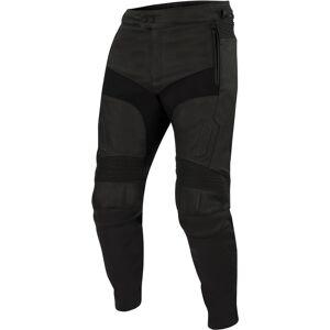 Bering Boyd Motorsykkel skinn bukser 3XL Svart