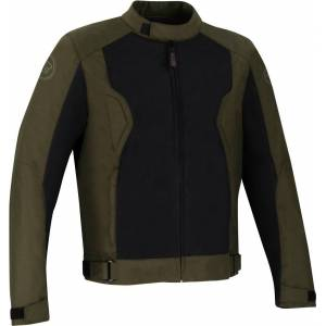 Bering Riko Motorsykkel tekstil jakke 3XL Grønn Brun