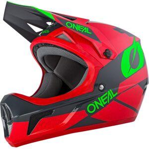 Oneal Sonus Deft Downhill hjelm L Rød Grønn