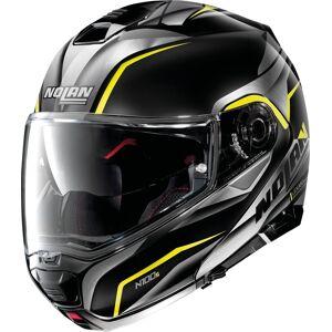 Nolan N100-5 Balteus N-Com Hjelm 2XL Svart Gul