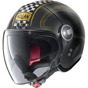 Nolan N21 Visor Getaway Jet hjelm XL Svart Gull