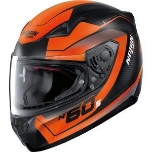 Nolan N60-5 Veles Hjelm S Svart Oransje