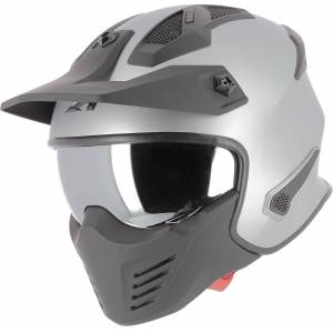 Astone Elektron Jet hjelm XS Grå