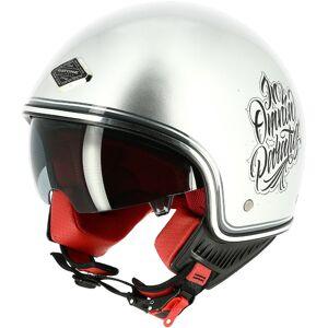 Astone Memento Mori Jet hjelm XS Sølv