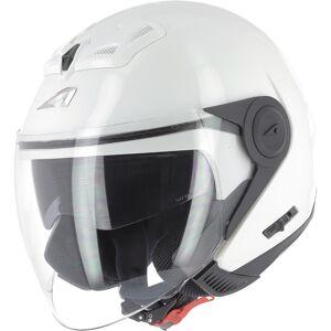 Astone DJ8 Monocolor Jet hjelm XL Hvit