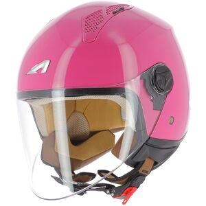 Astone Minijet Monocolor Jet hjelm S Rosa
