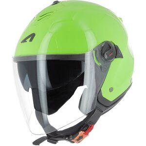 Astone Minijet Monocolor Jet hjelm L Grønn