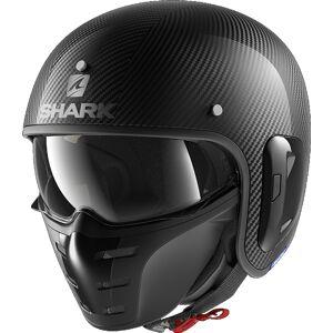 Shark S-Drak 2 Carbon Skin Jet hjelm 2XL Svart
