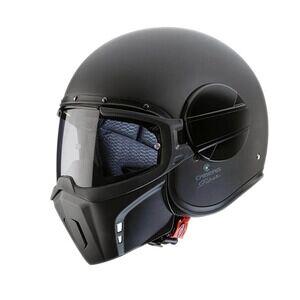 Caberg Motorsykkelhjelm Ghost, matte black, medium MC-tilbehør
