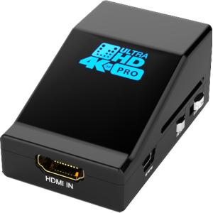 Hdfury SPLITPRO Hdfury 4K HDMI to DVI Splitter, 2 outputs, 4K/UHD, black