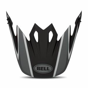 Bell MX-9 MIPS Twitch Hjälmskärm Matt-Svart-Grå-Vit