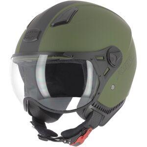 Astone KSR-2 Jet hjälm Grön L