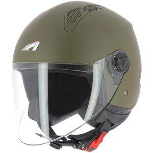 Astone Minijet Monocolor Jet hjälm L Grön