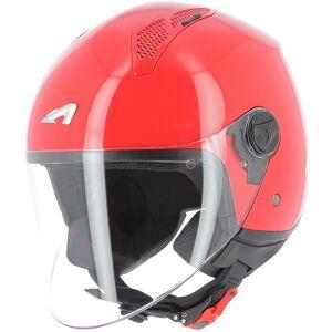 Astone Minijet Monocolor Jet hjälm L Röd