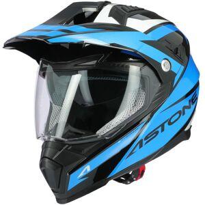 Astone Crossmax Ouragan Motocross hjälm 2XL Blå