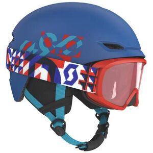 Scott Keeper 2 Junior Ski Hjelm + Witty Junior Goggles (Dark Blue)