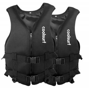 CoolSnow.fi 2 x CoolSurf Neopreeni Pelastusliivi - Unisex - 60-75 kg 60-75 kg
