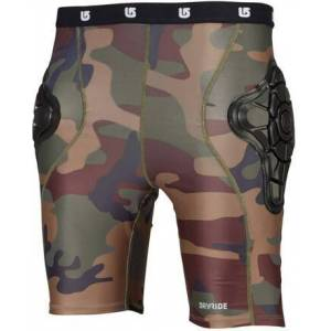 Burton Youth Total Impact Shorts (Highland Camo)