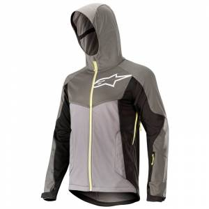 Alpinestars Milestone 2 Jacket Steel Gray Dark Shadow Acid Yellow - L