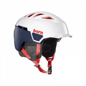 Bern Heist Brim Satin Patriot - L