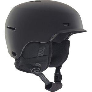 Anon Flash Junior hjelm - svart S-m