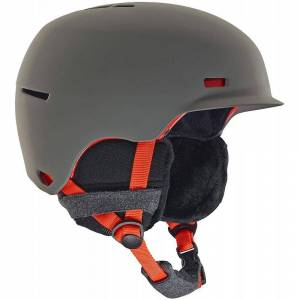 Anon kvinners ravn hjelm - grå M